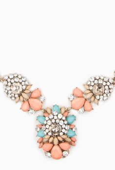 The Bride's Jewelry - statement necklace / shopsosie.hardpin.com / The SEA AND SAND Wedding