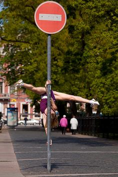 Street pole dancing....wish this could replace free running!