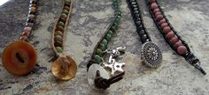 Anleitung zum Armband mit Lederbändeli und Perlen