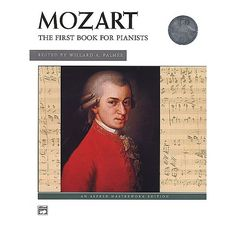 Mozart First Book for Pianists Book/CD. Selections are presented in their original, un-simplified form and are organised in progressive order of difficulty. $16.00