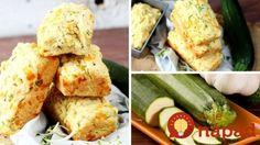 Letná náhrada pečiva: Cuketový chlieb so syrom a cesnakom