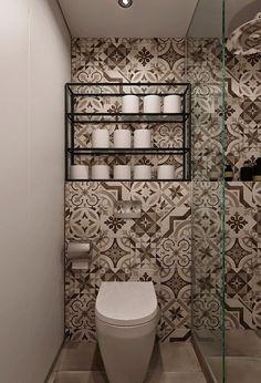 13 baño-pequeño-y-estrecho-pared-azulejos-estampados-baldosa-hidráulica