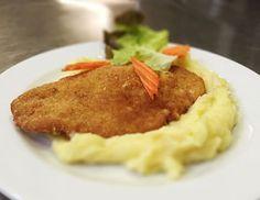Denné menu Vranov | Vyprážané kuracie prsia, zemiaková kaša - reštaurácia Hotel Patriot*** #hotel #restaurant #food #lunch