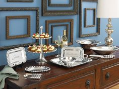 Transform your room with a Framed Wall Grouping, featuring our partner Larson-Juhl. Click below for great design ideas!  http://www.biltmore.com/living/decorating/wall-groupings.asp
