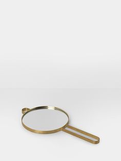 Poise Hand Mirror - Brass 1