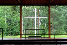 Otaniemi University Chapel by Heikki and Kaija Siren
