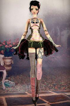 Ooak BJD Doll Echo & Harmony Forgotten Hearts Porcelain BJD Dolls | Flickr