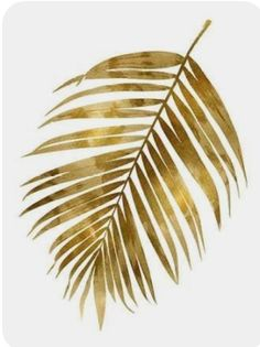 size: Stretched Canvas Print: Gold Palm I by Melonie Miller : Artists Using advanced technology, we print the image directly onto canvas, stretch it onto support bars, and finish it with hand-painted edges and a protective coating. Adult Party Themes, Photo Deco, Gold Aesthetic, Gold Walls, Leaf Art, Painting Edges, Stretched Canvas Prints, Watercolor Flowers, Watercolor Feather