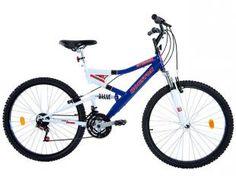 Bicicleta Houston Stinger Full Suspension - Aro 26 21 Marchas Freio V-Brake