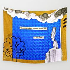 Wall tapestries now available on society6!