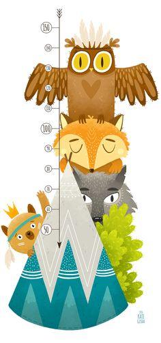 Просмотреть иллюстрацию Маленькие индейцы! из сообщества русскоязычных художников автора Екатерина Гуща в стилях: Детский, нарисованная техниками: Растровая (цифровая) графика.