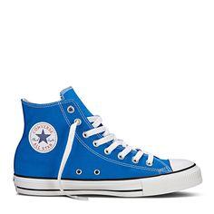 ad0fe459810 Converse All Star Seasonal Hoog Textiel - Blauw Converse Sneakers, Chuck  Taylors, Tennis