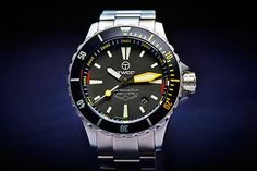 The Sea Rescue Diver Yellow Watch