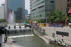 Chunggaechun Seoul Korea