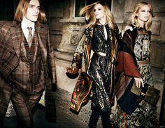 Exotic Print Lookbooks : Etro Fall/Winter 2014