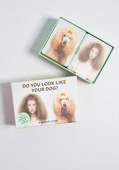 Do You Look Like Your Dog? Match Game by Chronicle Books from ModCloth Little Presents, Matching Games, You Look Like, Dear Santa, Unique Vintage, Home Gifts, House Warming, Your Dog
