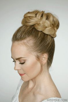 The Ballet Bun is a timelessly classic hairstyle that never goes out of style. It is perfect for ballet recitals, weddings and prom, or a rainy Wednesday.
