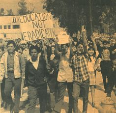 Chicano student blowouts | The 1968 Exhibit