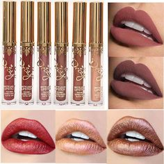 2017hot!!  Waterproof Matte Lip Liquid Lipsticks Long Lasting High Quality Lip Gloss Lip Makeup 16 Colors For Choice Lip gloss