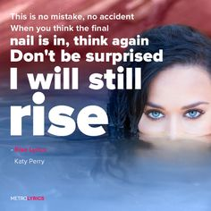 Katy Perry Quotes, Sayings, Images & Best Lines Katy Perry Lyrics, Katy Perry Quotes, Song Lyric Quotes, Music Lyrics, Lyric Art, Music Love, Music Is Life, Jason Song, 90 Songs