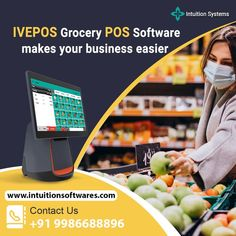IVEPOS Grocery POS Software. Simple way to improve your grocery store 💯