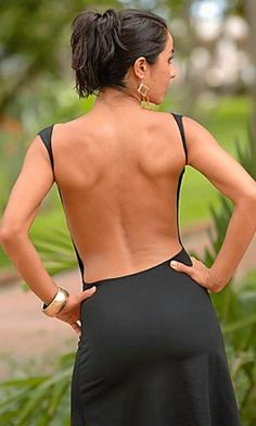 I will have a back like this by next summer....and the dress