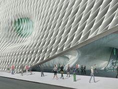 LA's Broad Museum Unveils Porous, Light-Filled Gallery