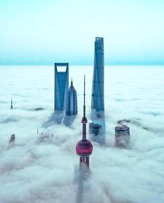 """xyz: """"Gorgeous drone shot of fog rolling through Shanghai China by S. TAG us to be featured dronelife droneporn aerialphoto dronebois aerialshot aerialvideo dronevideos dronesdaily dronesaregood via Drone Parrot, Shanghai Tower, Visit Shanghai, Aerial Filming, Dubai, Shanghai Skyline, Belle Villa, Drones, Dji Quadcopter"""