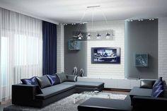 Мужской интерьер квартиры холостяка: фото идеи дизайна комнаты для мужчины