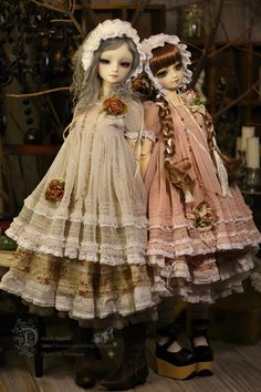 Dresses for dolls