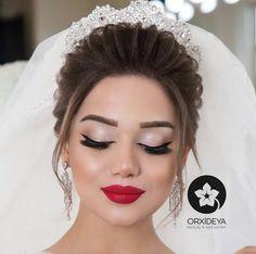 Best Bridal Makeup, Natural Wedding Makeup, Wedding Hair And Makeup, Soft Eye Makeup, Beauty Makeup, Hair Makeup, Hair Beauty, Bridal Hairdo, Hazel Eyes