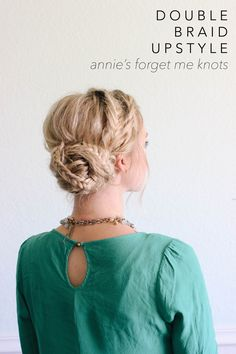 Annie has been a dear friend of mine for a long time. I've known her since  the 6th grade, and had the privilege of working with her in a salon after  cosmetology school. I have always been impressed and inspired by her  styling skills. She is the master of up styles, blowouts and braids. I'm so