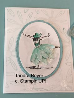 Daisy Delight Stampn'Up! - using both the Beautiful You and the Daisy Delight stamp sets.