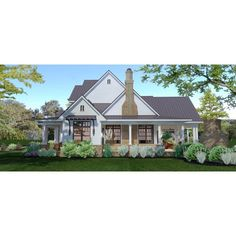 TheHouseDesigners-3151 Construction-Ready Large Farm House Plan with Slab Foundation (5 Printed Sets) 4000 Sq Ft House Plans, Pole Barn House Plans, Lake House Plans, Pole Barn Homes, Slab Foundation, Custom Home Plans, Architectural House Plans, Open Space Living, House Blueprints