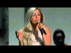 Lady Gaga Performance 'Sound of Music' Tribute for Julie Andrews @ Oscar...