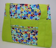 Lime Green Diaper Bag  --  Currently Available for purchase on eCRATER.com
