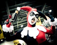 Character: Harley Quinn (Dr. Harleen Quinzel) / From: DC Comics 'Harley Quinn' & DCAU's 'Batman: The Animated Series' / Cosplayer: Jessica Leigh Carroll (aka Jessica Nova)