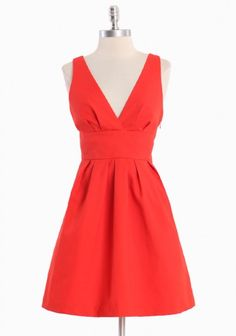 valentines?   This one is with structured cotton knit.  I wore something similar in a wedding in a different material..love the style