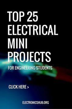 Top 65 Electrical Mini Projects - Science in School Top 25 Electrical Mini Projects for Engineering Students - Electrical Engineering Quotes, Electrical Projects, Engineering Technology, Electronic Engineering, Energy Technology, Engineering Cake, Mechanical Engineering Projects, Engineering Memes, Chemical Engineering