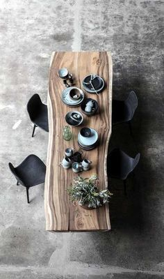 Interior Rugs, Living Room Interior, Kitchen Interior, Interior Design, Dining Table Design, Dining Room Table, Timber Dining Table, Image Deco, Sala Grande