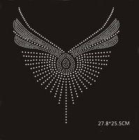 2 шт./лот Кашемировый свитер горячей исправить стразы железа на переводы мотив дизайн железо о передаче железа на кристалл трансферы дизайн