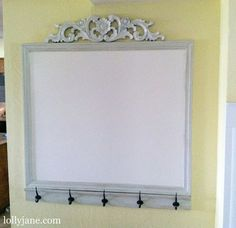 Cute whiteboard set up - I want this in my office!