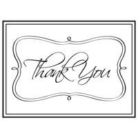 Darice A2 Embossing Folder - Thank You