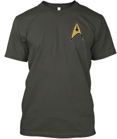 Welcome Trekkies Smoke Gray T-Shirt Front