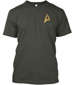 Welcome Trekkies Smoke Gray T-Shirt Front