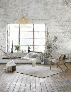 cosy place for relax in Scandinavian, industrial style