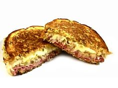 Yum...It's National Grilled Cheese Day! My all time favorite, grilled cheese sandwich, Skinny Grilled Reuben Sandwich! It's soo decadently delicious. Each has 373 calories, 12 grams of fat and 9 Weight Watchers POINTS PLUS. So hearty, ½ sandwich will be very satisfying! http://www.skinnykitchen.com/recipes/skinny-grilled-reuben-sandwich-decadently-delicious/