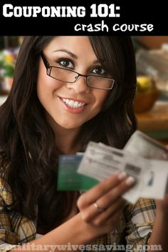 Coupon 101 Crash Course: How to use coupons and learn start extreme couponing!