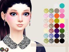 Studio K Creation: Collar Necklace - round shape • Sims 4 Downloads