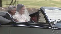Pippa Middleton arrives at church as she marries James Matthews at St. Mark's Church in Berkshire.